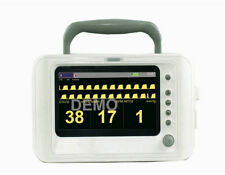 """Portable Veterinary EtCo2 and Respiratory Monitor with Accessories, 7"""" Screen"""