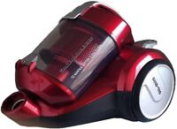 NEW 1400W GOLD-TEC BAGLESS  CYLINDER VACUUM CLEANER/HOOVER (RED)