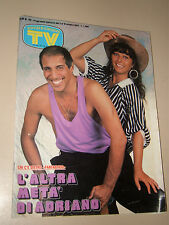 TV SORRISI CANZONI=1987/40=ADRIANO CELENTANO=MANGO=FALCO=DARIO ARGENTO=TELEMIKE=