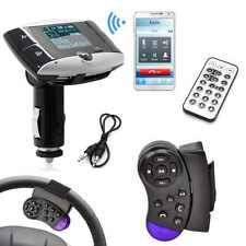 """AUTO Trasmettitore FM Lettore mp3 con controllo del volante display LCD da tavolo F"""""""