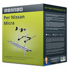 Menabo Logic 2 portabici per Nissan Micra V Tipo K14 per 2 bici