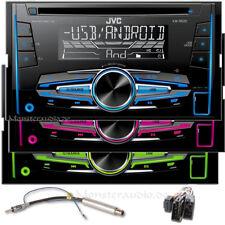 JVC Autoradio 2-DIN CD USB MP3 Radio für VW Bora Golf 4 IV Passat 3 BG Lupo