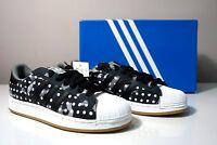 "Adidas Originals Superstar II ""Camo Dot"" Black/White Men's Sneakers M20727 Sz 8"