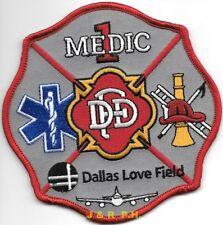 "*NEW*  Dallas  Medic - 1  ""Love Field"", Texas  (4.5"" x 4.5"" size) fire patch"