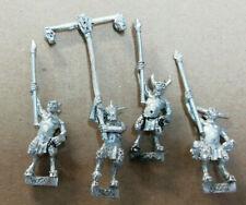 Warhammer Fantasy Beastmen ungor Spearmen - Metal - Stripped