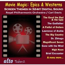 Carl Davis, Royal Ph - Movie Magic: Epics & Westerns [New CD]