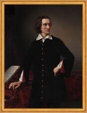 Portrait of Ferenc Liszt 1811 bis 1886 Miklos Barabas K&K Komponist B A1 02899