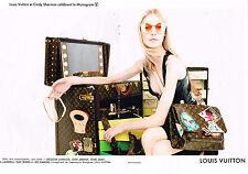 PUBLICITE ADVERTISING 025  2014  LOUIS VUITTON collection sacs valises ( 2p) MON