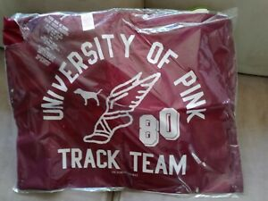 Victoria's Secret UNIVERSITY OF PINK TRACK TEAM 80 All Purpose BAG NEW IN PACK