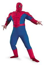 ADULT CLASSIC SPIDERMAN MUSCLE CHEST COSTUME XXL 11670C