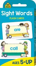 SIGHT WORDS Flash Cards Suitable for Kids Ages 5 - Up Early Learning Hinkler