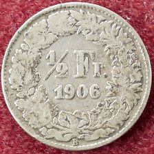 Svizzera Mezzo Franco 1906 (D2004)