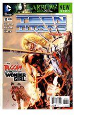 4 Teen Titans DC Comic Books # 13 14 15 16 New 52 Robin Joker Wonder Girl LH4