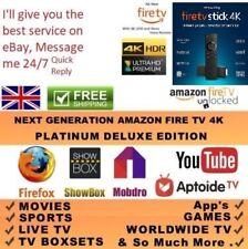 Amazon Fire TV Stick 4K HDR 💥 Latest Software💥 APTOIDE TV💥 Premium💥LEGAL