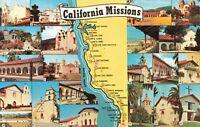 Postcard California Missions
