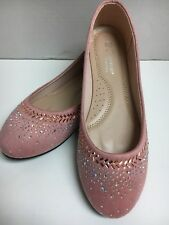 New Women's Forever Fashion Shoes Style Ballet Flat Shoes Dusty Pink Size 8.5