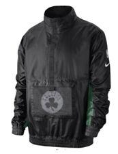 Men's Nike Boston Celtics Courtside Lightweight PO Jacket Large L Black NBA
