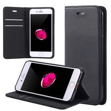 Custodia per Motorola Moto E4 Cover Case Portafoglio Wallet Etui Nero