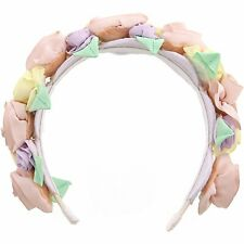 Janie And Jack Girl's Rosette Headband Hair Accessory