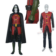 New Original Young Justice Robin Cosplay Costume Outfit Customized Hallowmas