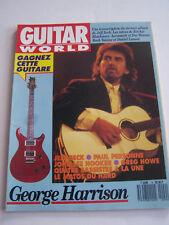 MAGAZINE GUITARE WORLD N° 9 , GEORGES HARRISON . BON ETAT .