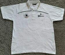 Dfb deutschland Polo-Shirt Bitburger l Jersey maglia camiseta Germany blanco