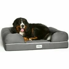 Dog Bed & Lounge - Gray