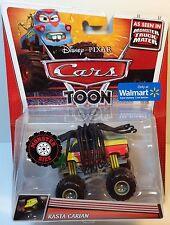 CARS - RASTA CARIAN Toon Mattel Disney Pixar Ed. WALMART