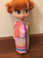 "Fits Disney Animators 16"" Toddler Princess Doll Clothes Pillowcase Dress Stripes"