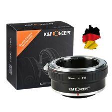 K&f adaptador, Nikon F Mount objetivamente a Fujifilm X-Mount, Fuji X DSLR x-pro1