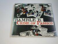 0221-BAMBLE B CRIME OF PASSION 2 TRACKS - CD - NUEVO PRECINTADO LIQUIDACION