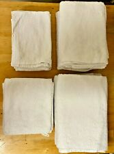 Towels-Lot 15x Ikea-Old Stock-Bath-Face-Hand-Bath Sheet-Home-Work-Guest Houses