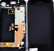 Ecran complet avzc chassis BlackBerry Z10 Blanc/Noir Version 3G