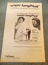 ENTER LAUGHING(1967)SHELLY WINTERS ORIGINAL PRESSBOOK