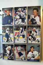 1995-96 95/96 Upper Deck Electric Ice Edmonton Oilers Team Set 17 cards 2 rookie