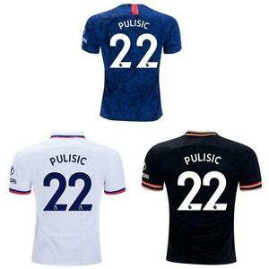 Christian Pulisic Chelsea 19/20 Home Away Third Jersey