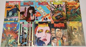 Shatter #1-14 VF complete series + special - computer generated art set lot