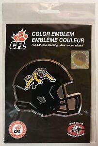 Hamilton Tiger Cats, CFL Aluminum Coloured Emblem