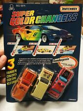 Matchbox Super Colour Changers Perfectly New Moc