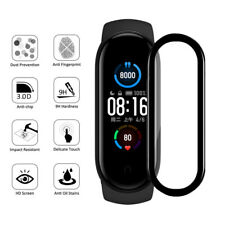 For Xiaomi Mi Band 5 Screen Protector Full Curved Edge Protective Film Glass