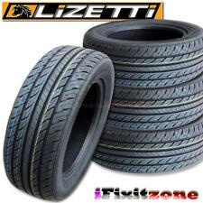 4 Lizetti LZ-ES2 205/60R15 91H All Season Performance Tires 205/60/15 New