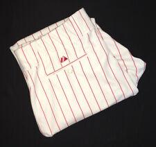 Vtg Majestic Philadelphia Phillies Game Used Baseball Pants Men's Size 40/44