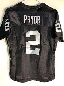 Reebok Women's Premier NFL Jersey Oakland Raiders Terrelle Pryor Black sz XL