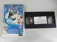 BALTO LA LEYENDA DEL PERRO ESQUIMAL VHS CINTA TAPE EDICION ESPAÑA - 2T