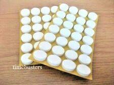 Single Sided Adhesive Foam Pads Dots CD DVD Blu Ray Disc Holder Black White