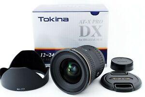 【MINT BOX】 Tokina AT-X Pro SD 12-24 mm F/4 IF DX II lens For Nikon From Japan