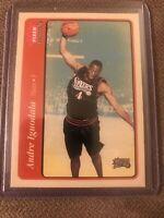 2004-05 Fleer Tradition #229 Andre Iguodala RC Philadelphia 76ers
