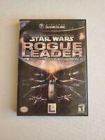 Star Wars Rogue Squadron II: Rogue Leader - Nintendo GameCube - missing manual