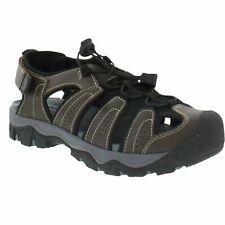 Eddie Bauer Men's Bump Toe Sandals Shoes Color Brown Size 13