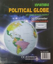 - NEW - Jet Creations GTO-36GOB I - 36 Inch Inflatable Political Globe